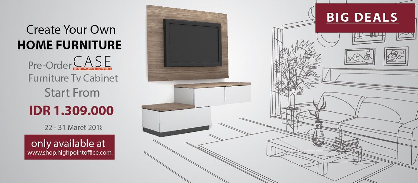 Case Tv Cabinet for Home Furniture