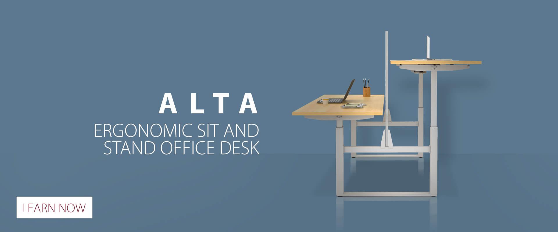 Alta - Ergonomic Sit & Stand Office Desk